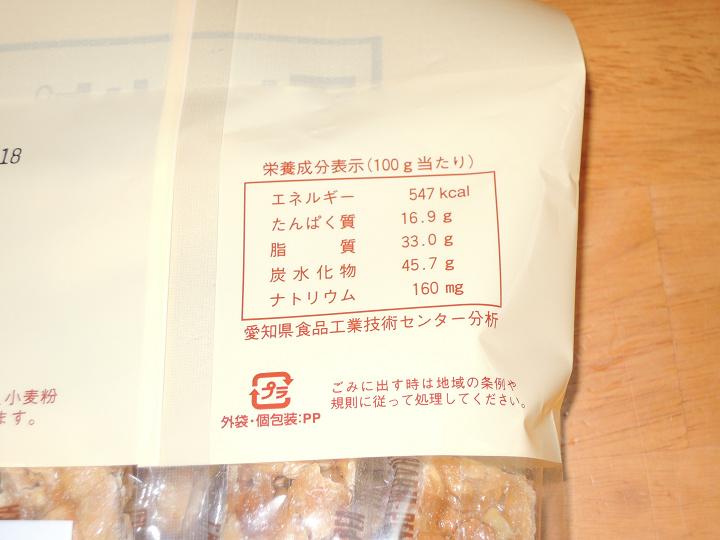 チャームピー 第一製菓 カロリー