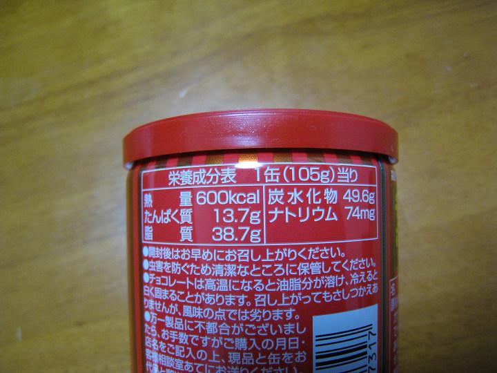 チョコボール缶 森永製菓 カロリー