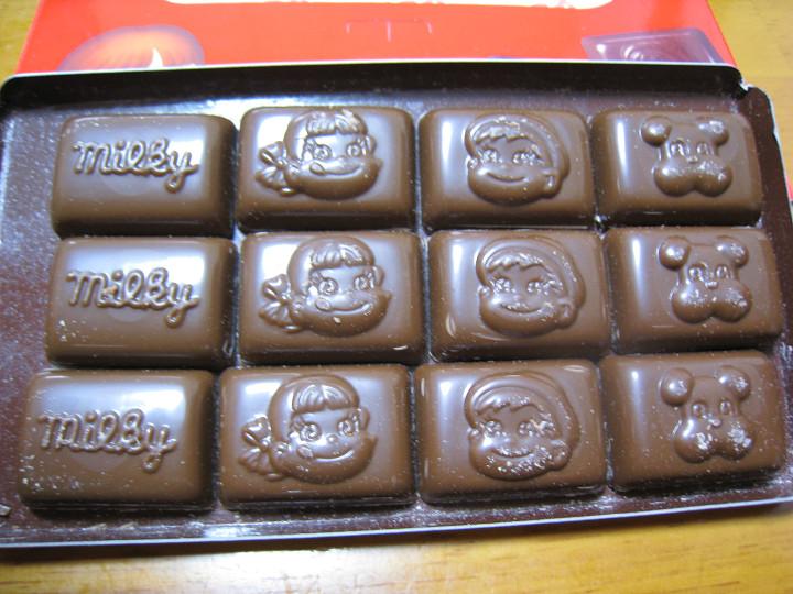 不二家 ミルキーチョコレート 個数
