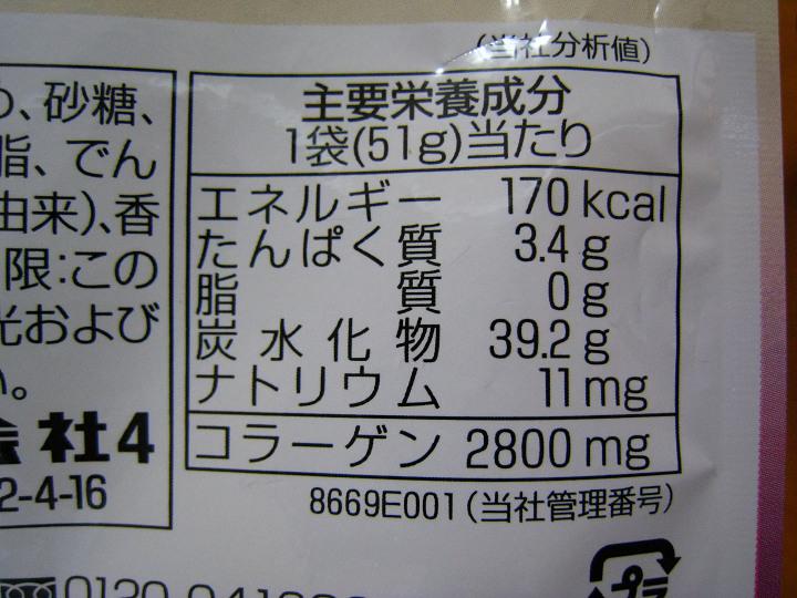 明治 果汁グミ カロリー