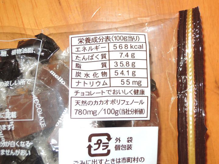 アルファベットチョコレート 名糖産業 カロリー