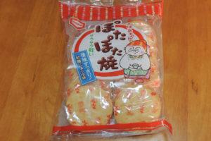 ぽたぽた焼  亀田製菓 パッケージ