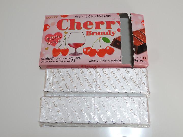 チェリーブランデー ロッテ チョコレート 本数