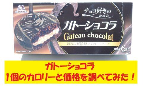 森永 ガトーショコラ チョコパイ カロリー